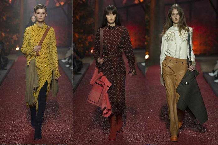Hermès 2018 時裝騷上 Model 背的不是手袋,而是…
