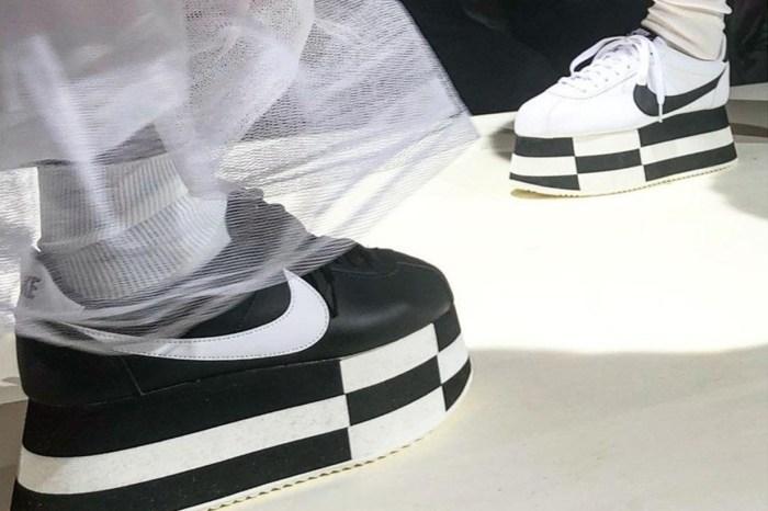 Nike 與 COMME des GARÇONS 的最新合作,在 PFW 率先曝光!