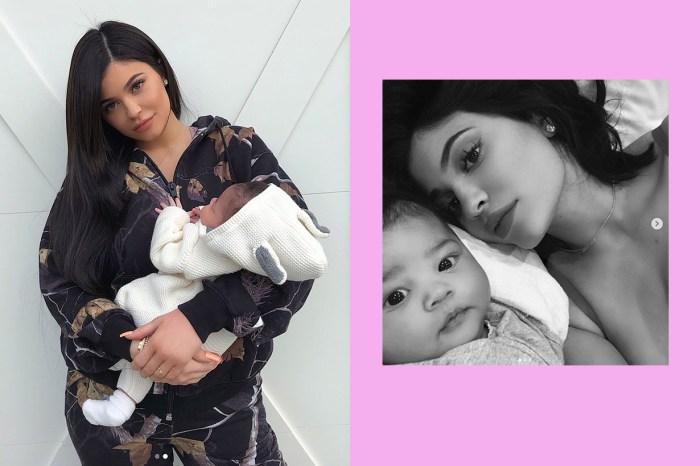 Kylie Jenner 甜曬女兒最新正臉合照,Stormi 成長速度也太驚人!