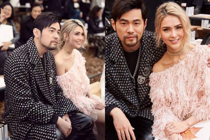 周杰倫、昆凌合體出席 Chanel 時裝秀,場邊小動作頻放閃好甜蜜!