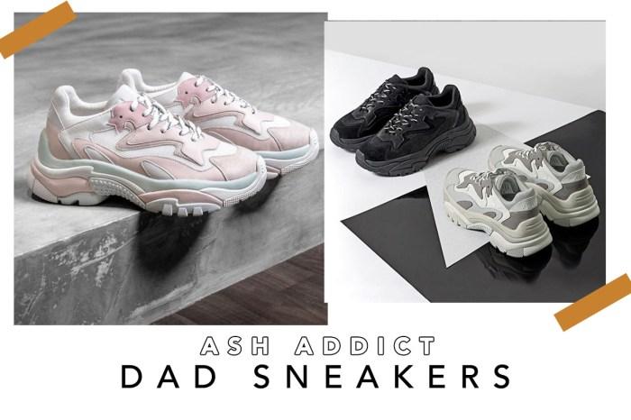 Ash 也加入 Dad Sneakers 戰圈,引來網民爭相在 Instagram 留言詢問!