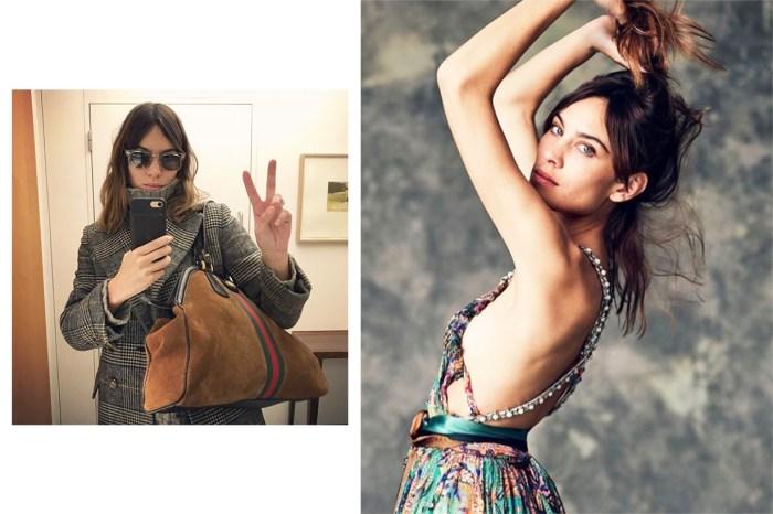 元祖 IT Girl Alexa Chung 的一張自拍,令這款珍珠頭飾陷入搶購熱潮!