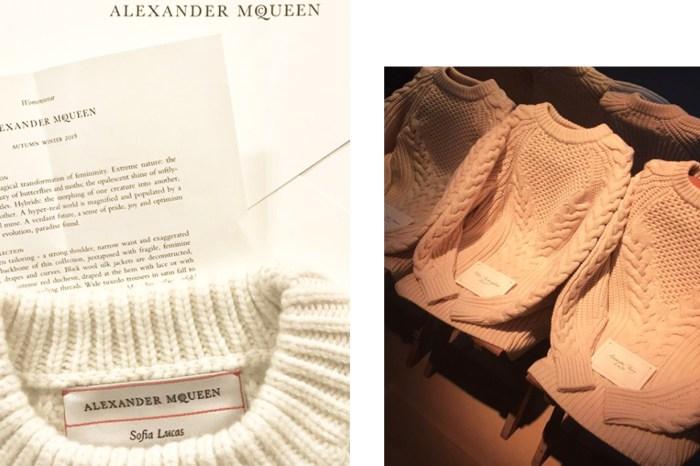 #PFW : Alexander McQueen 2018 秋冬發佈會,話題之一竟然是場內的椅子?