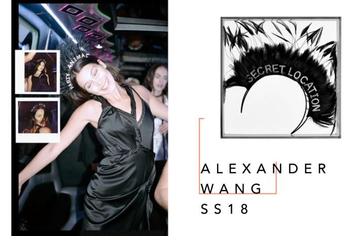 假若有 6 千美元,你願意買下 Alexander Wang 最新春夏手造頭飾嗎?
