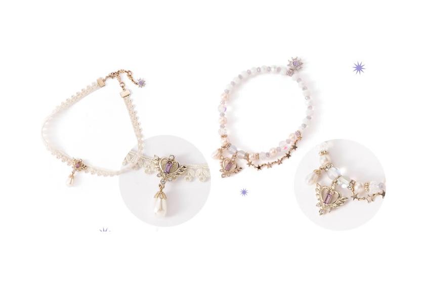 Anna Sui 推出的美少女戰士飾品系列