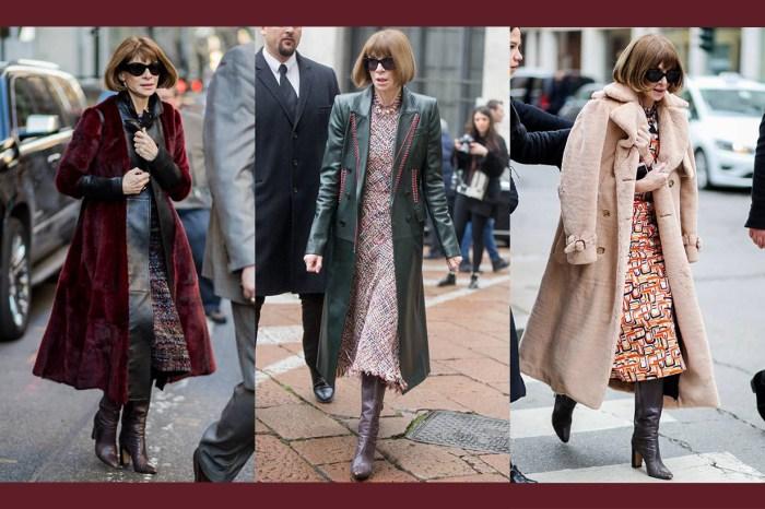「時尚教主」非浪得虛名! Anna Wintour 親身示範如何僅靠一雙長 Boots 走天涯!