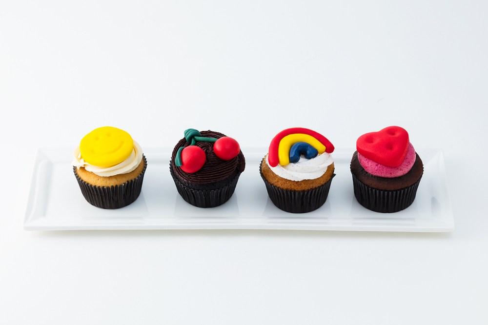 Anya Hindmarch 銅鑼灣利園甜品店 The Cakery 推出期間限定 The Chubby Cupcake 杯子蛋糕