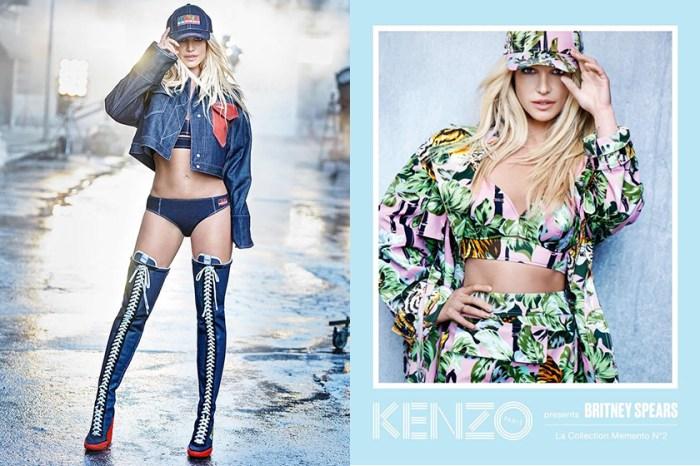 人生首個高級時尚廣告出爐-Britney Spears:像回到 90 年代的自己!
