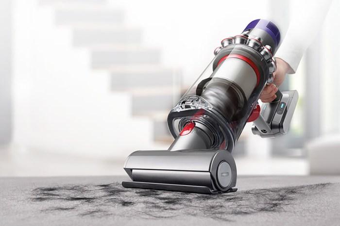 吸塵也要講究美學,Dyson 推出革命性 Cyclone V10 無線吸塵機!