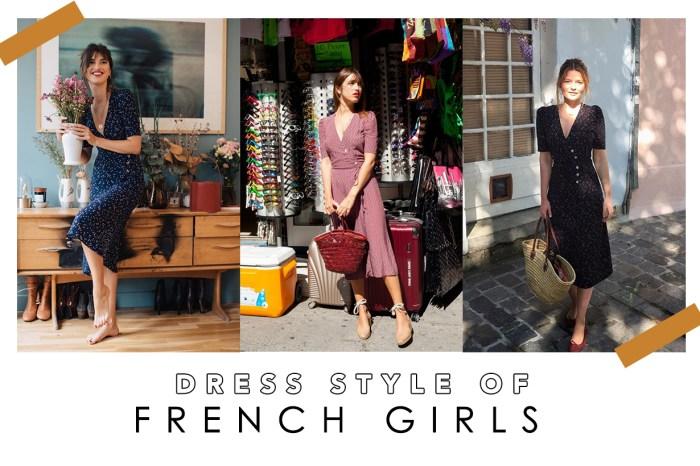 公開法國女生的衣櫥!只需要這款連身裙﹐便足夠她們應付四季