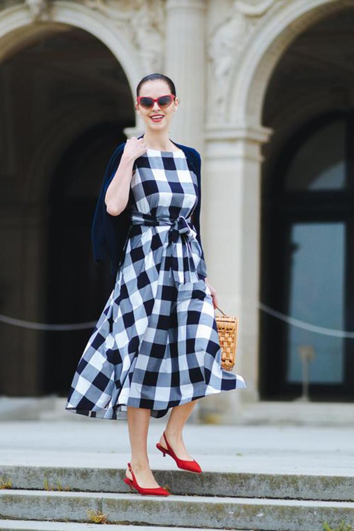 2018 春夏季流行法式 Gingham Check 衣物