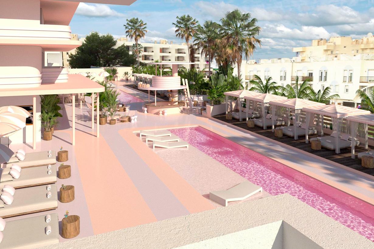 座落於西班牙小島的夢幻藝術飯店 美度宛如入住 布達佩斯大酒店