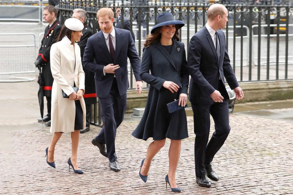 是巧合嗎 凱特皇妃 Meghan Markle 穿上 Matching Looks 連鞋款都一樣