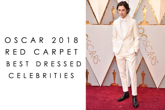 #奧斯卡2018:女星們盛裝也不及這位美少年的白馬王子造型搶眼!