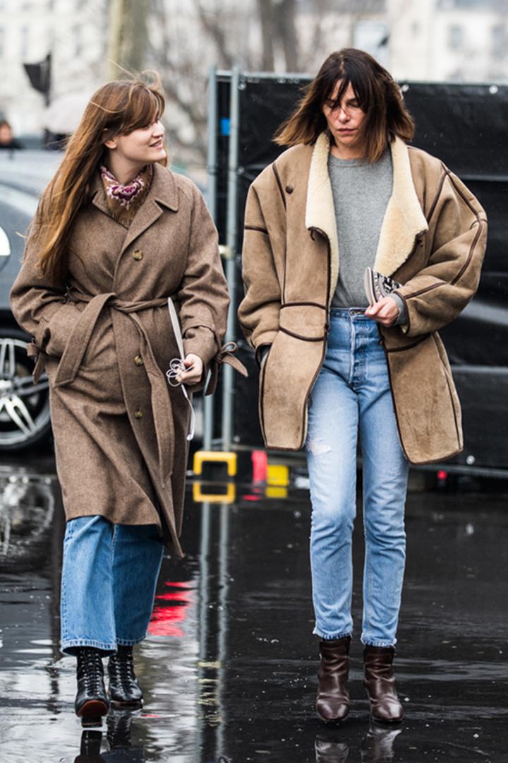 一眾法國時尚女生教你如何完美演繹不過時穿搭風
