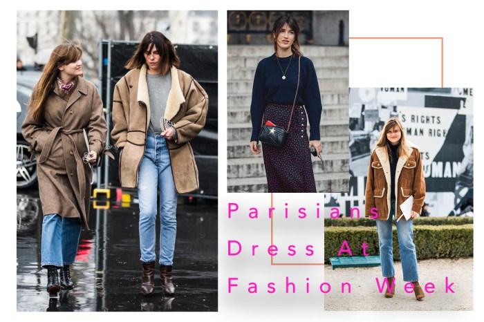 一眾法國時尚女生教你如何完美演繹絕不過時的穿搭風格