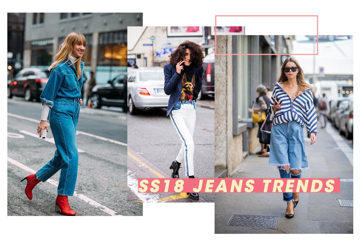 輕鬆掌握 2018 春夏牛仔褲潮流趨勢