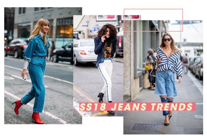 認清這 5 點!輕鬆掌握 2018 春夏牛仔褲潮流趨勢
