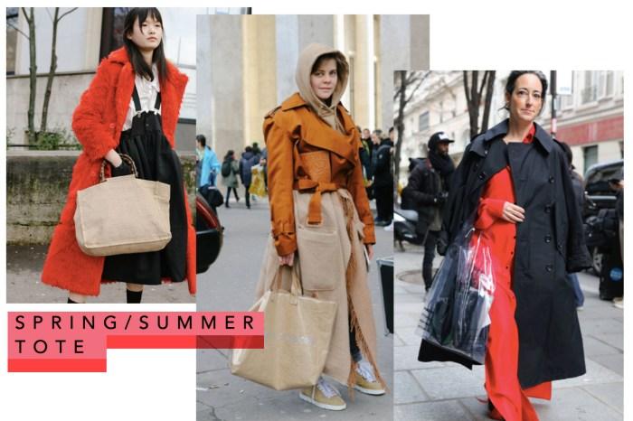 向時裝週街拍達人取經!實用又耐看的 Tote Bags 才是長年必備單品