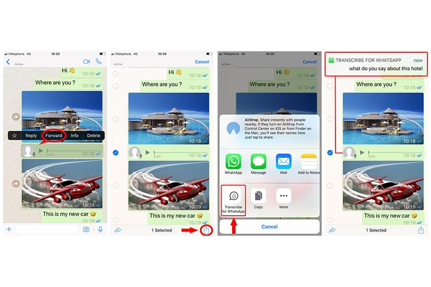 App Spiko for Whatsapp 讓你把 Whatsapp 語音訊息變成文字