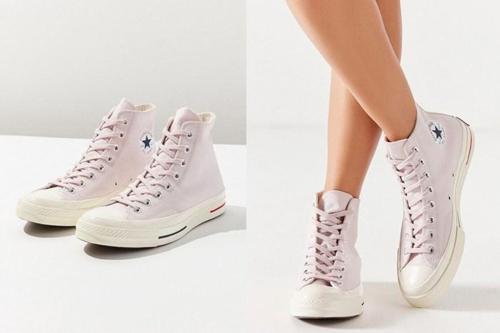 平凡但又有細節!Converse 全新粉色鞋款好適合迎接夏日