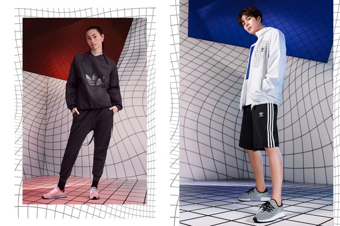adidas Originals 全新 Deerupt 系列,顛覆你對網紋的想像!