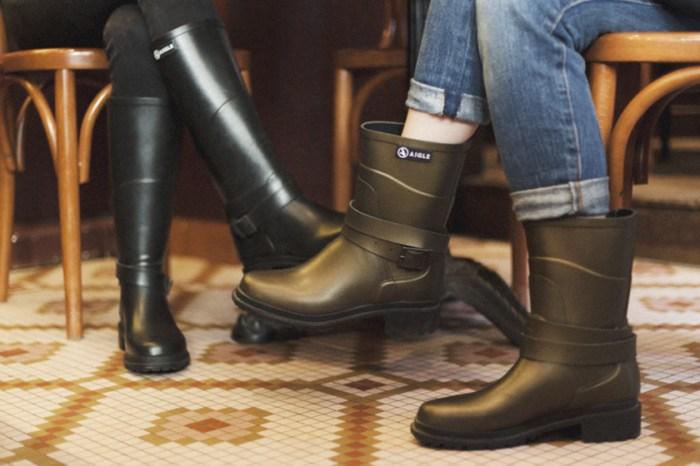 AIGLE 橡膠靴化身型格靴款:讓你打造易於搭配又不失造型感的時尚,自信暢遊天下!