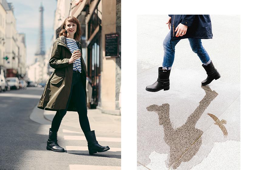 Image of AIGLE 橡膠靴化身型格靴款:讓你打造易於搭配又不失造型感的時尚,自信暢遊天下!