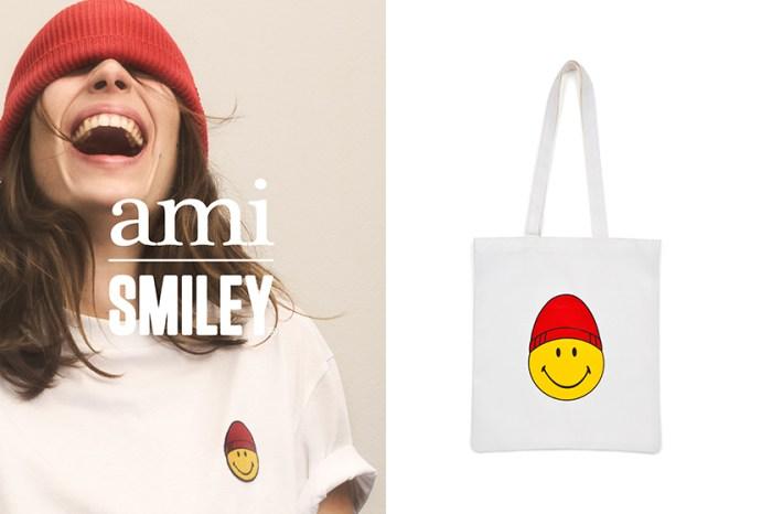 ami x Smiley 推出聯乘系列,你也可以免費獲得這個可愛 Tote Bag!