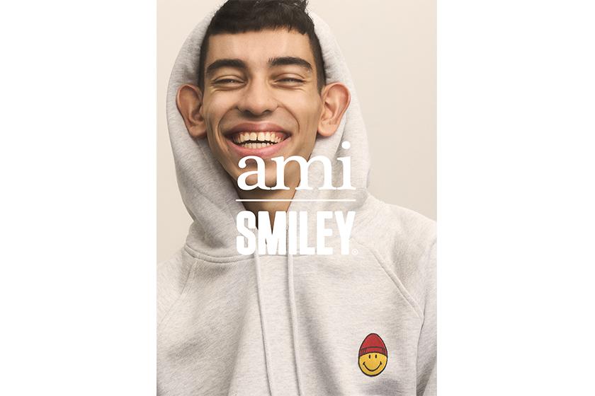 ami x Smiley 推出聯乘系列 銅鑼灣 Fashion Walk 免費派發 Tote Bag