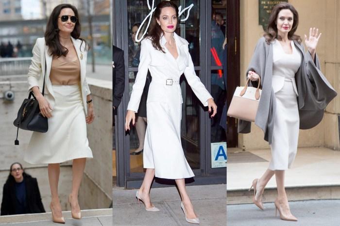 跟 Angelina Jolie 學輕熟系優雅穿搭,隨性出門也能氣質滿滿!
