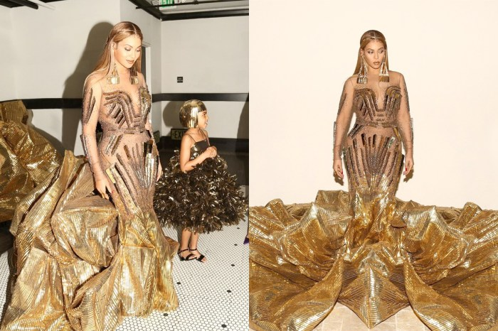 Beyoncé 出席 Art Gala 的訂製服太耀眼,女王風範誰也比不上!
