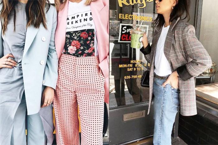 經典西裝外套流行度不減:看時尚達人演繹貼合春季的造型!