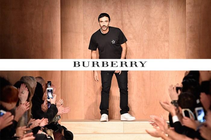 突發!Burberry 宣佈 Riccardo Tisci 成為品牌新任創意總監!