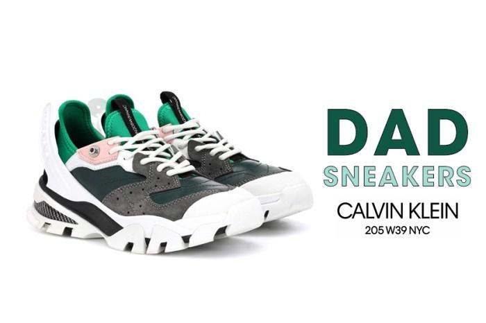 Dad Sneakers 今季持續發熱中:人人都穿 Balenciaga?或者 Calvin Klein 這幾雙就是你的另類選擇!