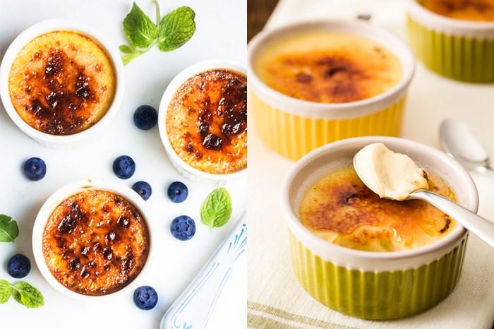 #週末廚房:脆皮焦糖百吃不厭!跟著食譜製作法式焦糖燉蛋 Crème brûlée