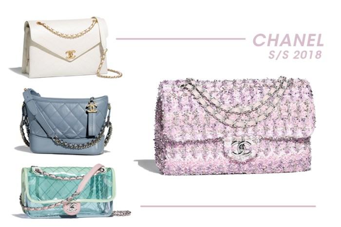 屬於春天的色彩:Chanel 新季超過 100 款手袋,絕對會讓女生的選擇困難症發作!