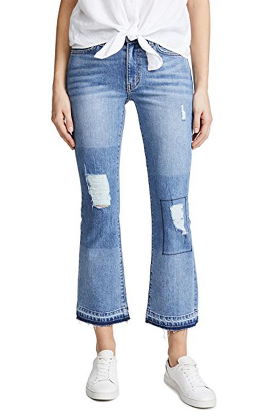 棉質牛仔褲經清洗後相對能保持彈性