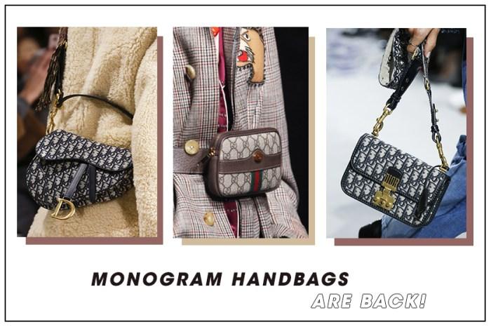 因為 Dior 和 Gucci,  90 年代紅極一時的 Monogram 手袋要正式回歸了!