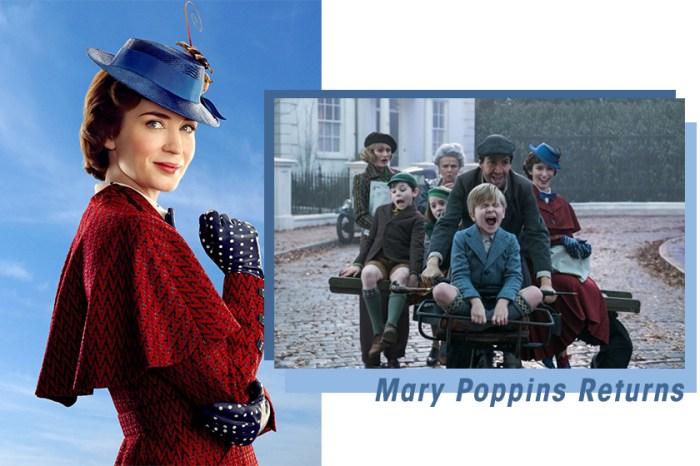 迪士尼至今獲獎最多的作品:《Mary Poppins》找來 Emily Blunt 重量級回歸!