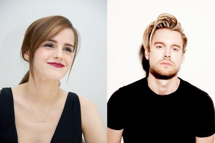 剛傳出戀情便高調放閃,看 Emma Watson 的笑容完全沈浸在愛河之中!
