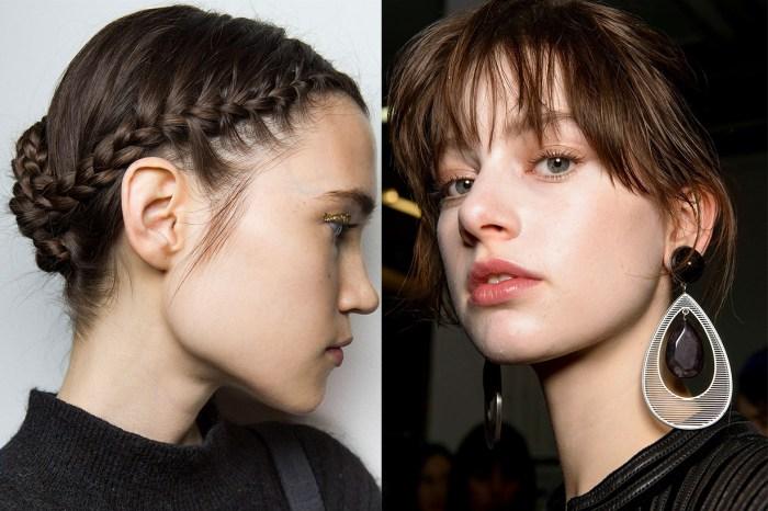 2018 年的時裝展後台,有哪些值得一試的髮型?