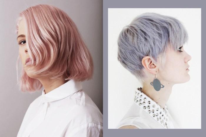 這位髮型師為客人漂染頭髮的影片竟然多達 30 萬人觀看,皆因每款都是絕美的彩虹色!