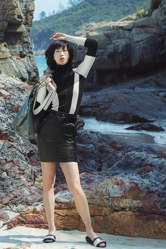 法式優雅度假穿搭穿上 Isabel Marant 2018 年春夏系列塑造出不經意的不羈與時尚感