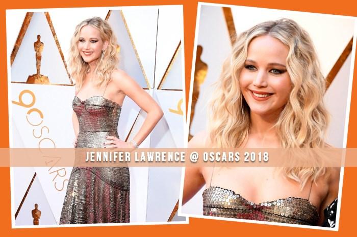 #奧斯卡2018:Jennifer Lawrence 一頭 80 年代復古微鬈曲髮,靈感原來來自她!