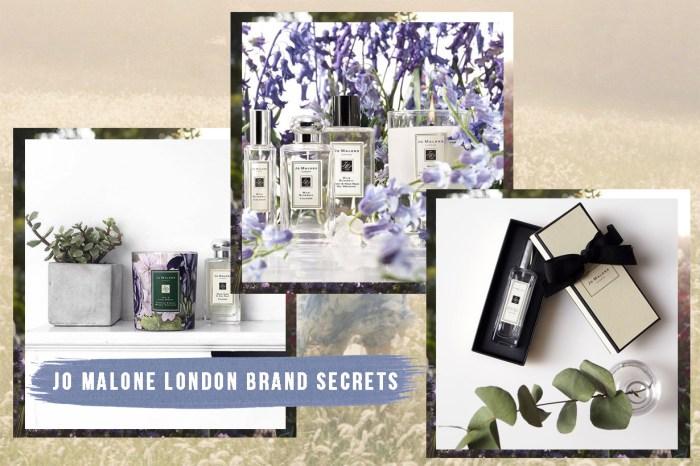 不知道這 9 個品牌秘密,你也不要自稱為 Jo Malone London 粉絲!