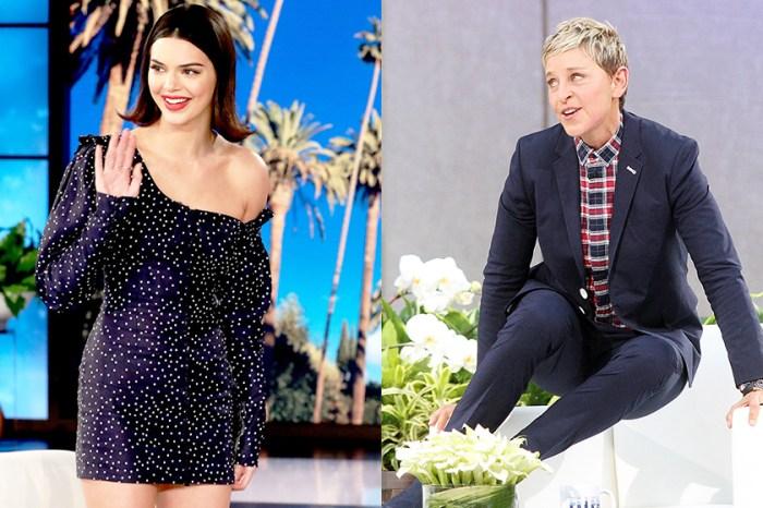 Kendall Jenner 展示古怪的唇內紋身,Ellen DeGeneres:你那時明顯是喝醉了!