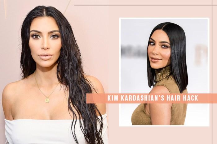Kim Kardashian 的這個簡單方法,可以讓你把沉悶的髮色來一次調整!