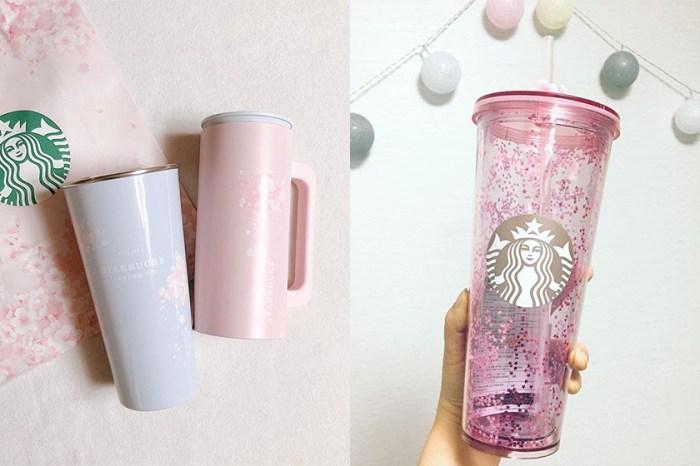 櫻花粉 x 寧靜粉藍:難怪韓國 Starbucks 櫻花杯會是今年必入手的櫻花產品!