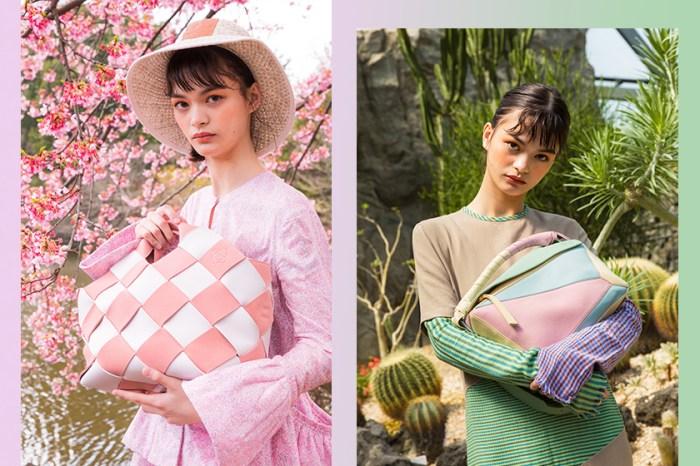 粉色天下:LOEWE 2018 全新春夏系列,讓你締造浪漫與前衛的時尚造型!
